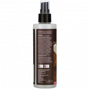 Desert Essence, Выпрямляющее средство и термозащита для волос с кокосом, 237 мл (8,5 жидкой унции)