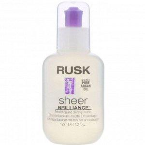 Rusk, Sheer Brilliance, средство для разглаживания волос и придания блеска, 125 мл