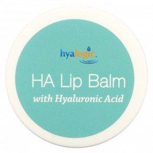 Hyalogic, бальзам для губ с гиалуроновой кислотой, 14 г (1/2 унции)