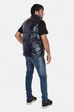 Двухсторонний мужской жилет ALLAXDO (Испания) подарит защиту в прохладную погоду и отлично дополнит Ваш модный образ №3845 ОСТАТКИ СЛАДКИ!!!!