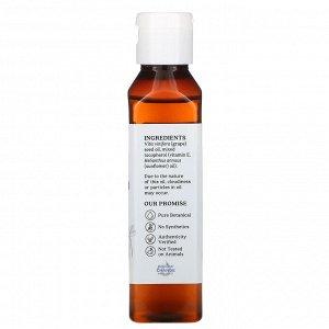 Aura Cacia, Skin Care Oil, Grapeseed, 4 fl oz (118 ml)