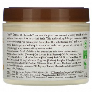 Palmer&#x27 - s, Coconut Oil Formula, Coconut Oil Balm, 3.5 oz (100 g)