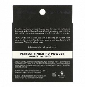 E.L.F., Perfect Finish, HD пудра, чистая, 0,28 унций (8 г)