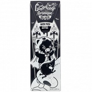 Elizavecca, Milky Piggy, Hell-Pore, маска-пленка с древесным углем для глубокого очищения пор, 100 мл (3,38 жидк. унций)
