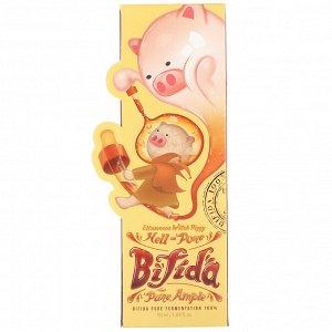 Elizavecca, Witch Piggy, Hell-Pore, восстанавливающая сыворотка с бифидобактериями, 50 мл (1,69 жидк. унций)