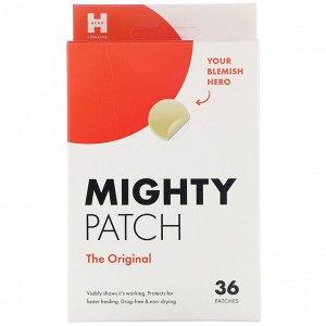 Hero Cosmetics, Mighty Patch, оригинальные пластыри, 36 шт.