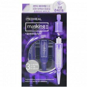 Mediheal, Poreminor Shot, ампульная сыворотка для сужения пор, 3 ампулы