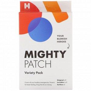 Hero Cosmetics, Mighty Patch, патчи разных видов, 26 шт.