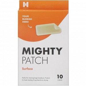 Hero Cosmetics, Mighty Patch, прямоугольные, 10 пластырей