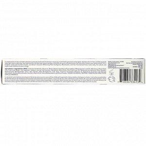 Desert Essence, отбеливающая зубная паста с маслом чайного дерева, со вкусом освежающей мяты, 176 г (6,25 унции)