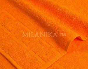Мандарин махровое полотенце