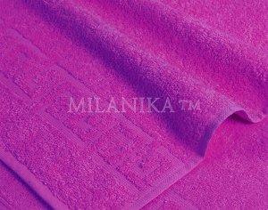 Т/фиолетовое махровое полотенце