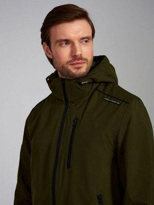 Куртка-ветровка утепленная флисом мужская