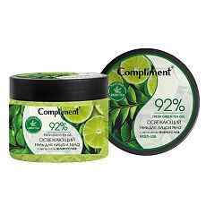 Compliment Гель Освежающий  д/лица и тела с экстрактом зеленого чая /400