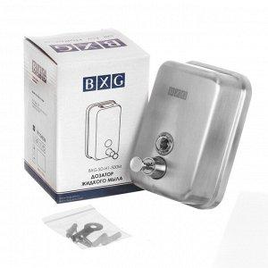 Дозатор для жидкого мыла BXG-SD-H1 (издел. из нержав. стали), 0,5 л