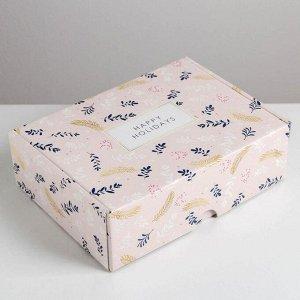 Складная коробка «Счастья», 30,7 ? 22 ? 9,5 см