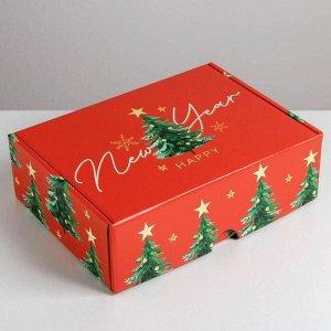 Складная коробка «Волшебство», 30,7 ? 22 ? 9,5 см