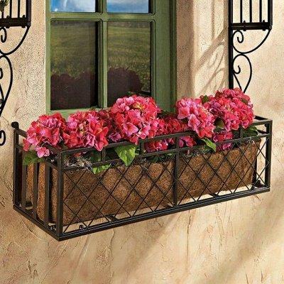 Дачный сезон: готовимся к сезону — Подставки под цветы — Садовый декор