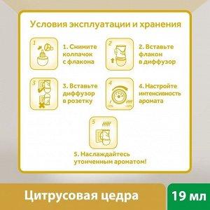 ЭИРВИК Ароматический диффузор Цитрусовая Цедра /19