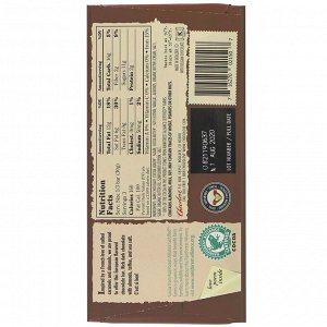 Chocolove, Almonds, Toffee & Sea Salt in Dark Chocolate, 55% Cocoa, 3.2 oz (90 g)