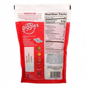 YumEarth, Organic Giggles, 5 oz (142 g)