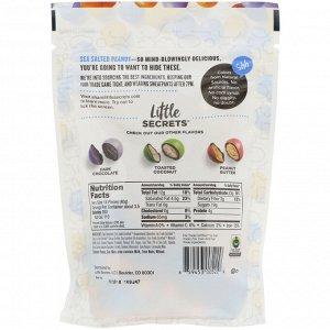 Little Secrets, Кусочки темного шоколада, с арахисом и морской солью, 142 г