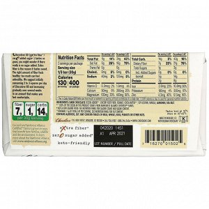 Chocolove, XO, Almonds & Sea Salt in 60% Dark Chocolate Bar, 3.2 oz (90 g)