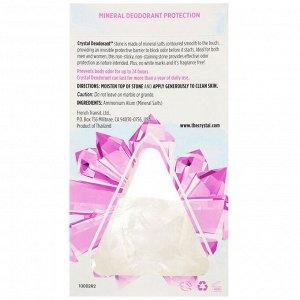 Crystal Body Deodorant, Mineral Deodorant Stone, Unscented, 5 oz (140 g)