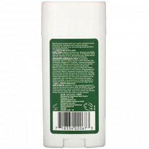 Desert Essence, Дезодорант, Масло чайного дерева, 2,5 унц. (70 мл)