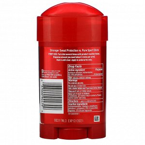 Old Spice, Pure Sport Plus, Extra Strong Anti-Perspirant/Deodorant, Soft Solid, 2.6 oz (73 g)