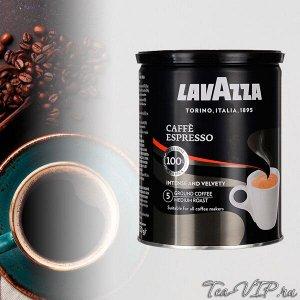 Lavazza Espresso 250гр. 1/12 молотый ж/б