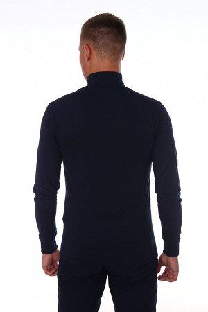 Водолазка мужская 1300 (темно-синяя)