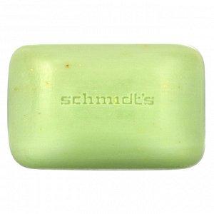 Schmidt&#x27 - s, Natural Soap, Bergamot + Lime, 5 oz (142 g)