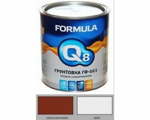 Грунт ГФ-021 Престиж FORMULA Q8 красно-коричневая 20 кг