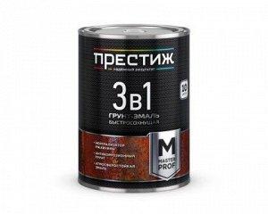 Грунт-эмаль ПРЕСТИЖ по ржавчине КРАСНАЯ 1,9 кг (6/кор)