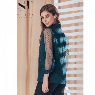 《SТ-Style》Стильная женская одежда! Утепленные Новинки! — Блузы, рубашки, боди — Блузы