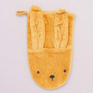 Комплект из 2 перчаток для душа с животными Eco-conception - серый