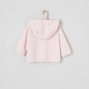 Жилет и брюки 'панда' - розовый светлый