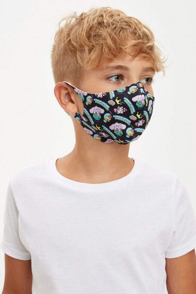 DEFACTO - толстовки, футболки, брючки и пр. для мальчиков. — Мальчики 3-14лет Маски — Аксессуары
