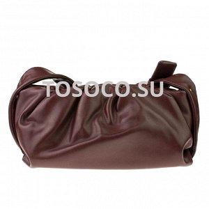 842-1  burgundy сумка экокожа 13х30x11