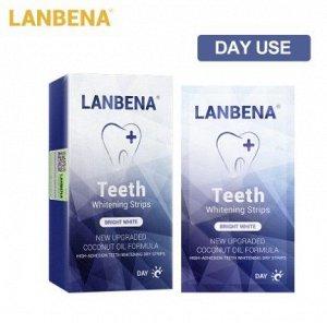 Дневные отбеливающие полоски для зубов LANBENA