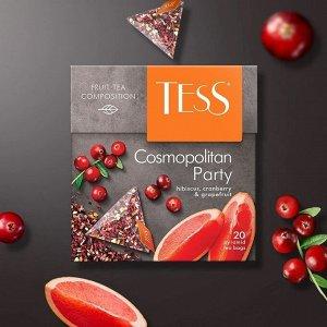 Чай Тесс пирамида Cosmopolitan Party  2г 1/20/12