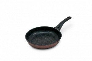 Сковорода Gochu Ecoramic 24 см СТАНДАРТ с мраморным покрытием для всех видов плит.
