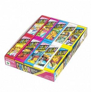 Резинка жевательная КОРЕЯ Колор (Color) Lotte, пластинки, 12,5г
