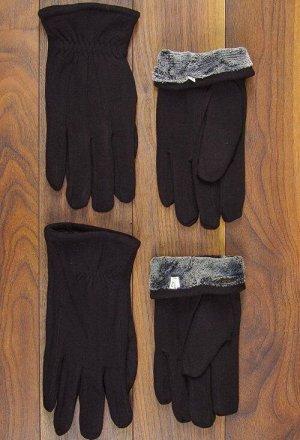Перчатки мужские трикотаж, резинка