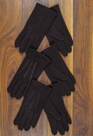 Перчатки мужские, трикотажные