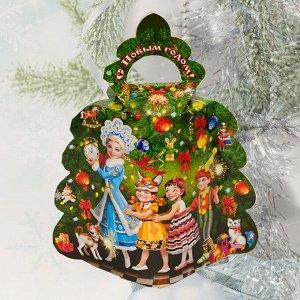 Новогодний подарок «Новогодняя ёлка-мини», картонная упаковка, 250 г