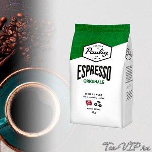 Paulig Espresso Original 1000гр. Зерно 1/4