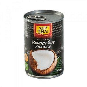 Кокосовое молоко, 85% мякоти Real Thai