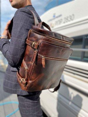 Рюкзак кожаный мужской